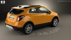 opel yellow 360 view of opel mokka x 2017 3d model hum3d store