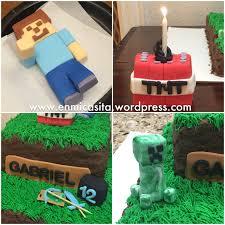 minecraft cake topper fondant minecraft cake toppers en mi casita