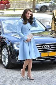 duchess kate duchess kate recycles emilia wickstead dress shy boy cries as he meets kate middleton in luxembourg blue coats