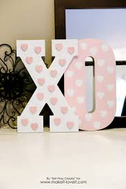 Valentine Home Decorations Xo U0027 Valentine Home Decor Tutorial Make It And Love It