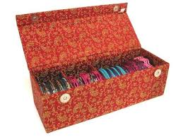 bracelet jewelry box images Indian glass bangle storage travel box jpg