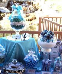 Tiffany Blue Candy Buffet by Tiffany U0027s Blue Themed Wedding Candy Buffet Powell U0027s Sweet Shoppe