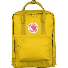 fjallraven kanken classic bag warm yellow packs u0026 bags from open