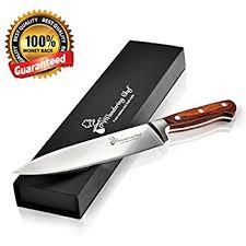 wood handle kitchen knives amazon com chef knife 8 inch professional cook best