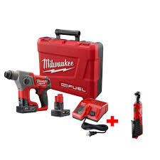 what was the price for millwaukee ratchet at home depot this black friday milwaukee m12 fuel 5 8 in cordless sds plus rotary hammer kit