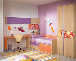 Bedroom Ideas Purple And Cream Kids Bedroom Ideas Purple Wall Wood Drawers Bookshelf Rabbit