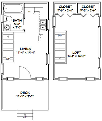 12x20 tiny houses pdf floor plans 452 sq by excellentfloorplans