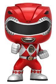 amazon funko pop television power rangers action figure red