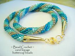 crochet necklace bead images 211 best bead crochet images bead crochet bead jpg