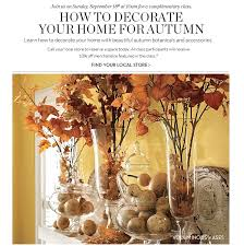 Decorating Your Home For Fall Beautiful Pottery Barn Decorating Class Photos Decorating