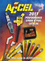 accel catalog 2011 74488g ignition system distributor