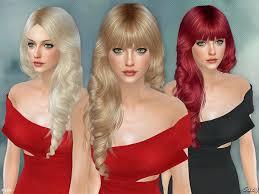 sims 4 hair custom content sims 4 updates tsr hairstyles new hair mesh lisa female