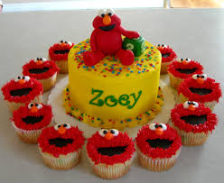 elmo cake topper elmo birthday cake and cupcakes image inspiration of cake and