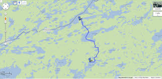 Boundary Waters Map Boundary Waters Canoe Area Superior Footprints
