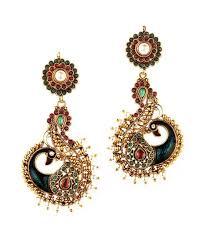 buy earrings online trinketbag mor pankh earrings buy trinketbag mor pankh earrings