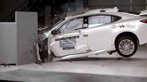 lexus es300 vs audi a6 iihs 2016 lexus es 350 small overlap crash test good