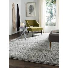Marrakesh Shag Rug Grey And White Area Rug 8x10 Creative Rugs Decoration