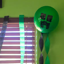 minecraft ribbon our epic minecraft birthday party our three peas