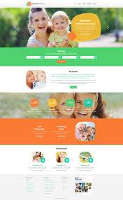 Resume Web Templates Babysitting Website Template