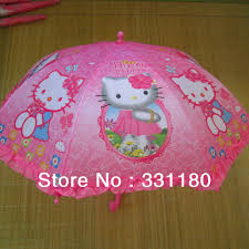 umbrella rain picture more detailed picture about hello kitty