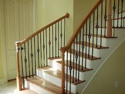 Iron Stair Banister Wood Metal Stair Railing Eva Furniture