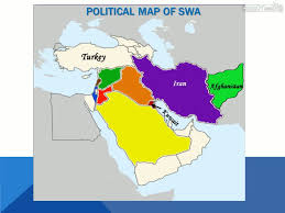 Southwest Asia Map by Political And Physical Features Of Southwest Asia Middle East