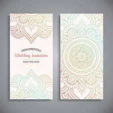 wedding invitation design vector free