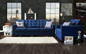 navy sofa living room eye catching navy blue sofa and loveseat home textiles living room