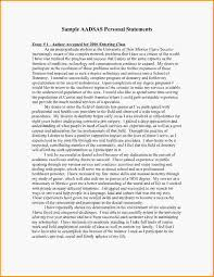 Cover Letter  Resume Personal Statement Examples With Experience As Market Strategy And Financial Analyst Or     Uol