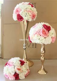 Wholesale Floral Centerpieces by Online Get Cheap Pink Flower Wedding Centerpieces Aliexpress Com