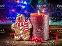 gift boxes candle lights and frozen window christmas background