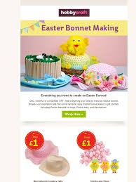 Easter Bonnet Decorating Ideas by Hobbycraft Get Reel Y Crafty This Easter Milled