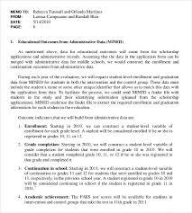 executive memo template u2013 7 free word excel pdf documents