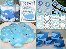whale baby shower ideas whale themed shower and has list of where to buy items baby