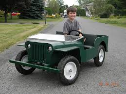 mini jeep for kids if i get a riding mower again i m copying this off topic