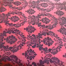 Paisley Home Decor Fabric by Burgundy Velvet Fabric Black Paisley Fabric Wine Printed Fabric