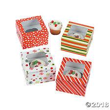 christmas boxes christmas cupcake boxes