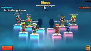 siege mcdonald pixel gun 3d clan siege battle gameplay awesome