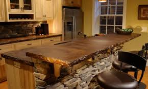 Cool Countertop Ideas Cool Design Rustic Tile Kitchen Countertops Redtinku Kitchen And