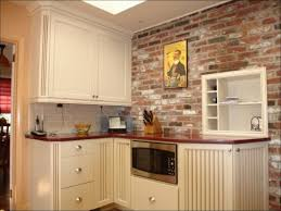 kitchen room faux brick kitchen exposed brick kitchen wall brick