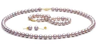 freshwater pearl necklace set images Freshwater pearl jewelry sets free returns free shipping no jpg