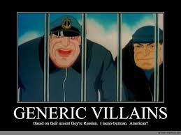 Accent Meme - generic villains anime meme com