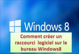 comment faire un raccourci sur le bureau comment créer un raccourci logiciel sur le bureau windows8
