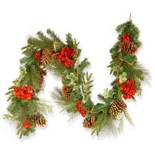 buy ornament garlands from bed bath beyond