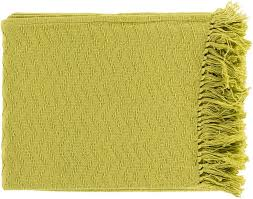thelma 50 by 60 inches woven cotton throw home decor surya