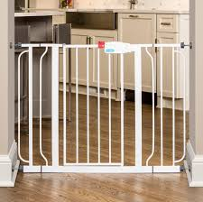 Child Proof Gates For Stairs Amazon Com Regalo Easy Step Extra Wide Walk Thru Gate 29 44