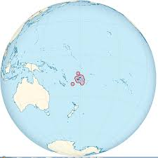 Map Of Fiji Fiji Map