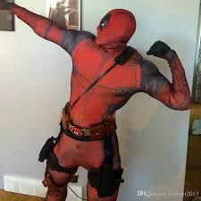 Halloween Costumes Deadpool Marvel Halloween Cosplay Body Deadpool Costume