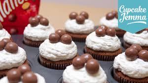 malteser cupcake recipe cupcake jemma youtube