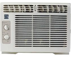 slider window air conditioner kenmore 5 000 btu window mounted mini compact air conditioner